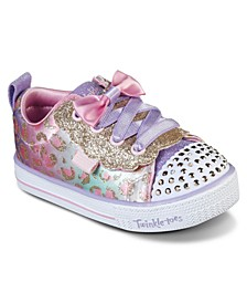 Toddler Girls Twinkle Toes Shuffle Lite Sweet Spots Stay-Put Closure Casual Fashion Sneakers from Finish Line