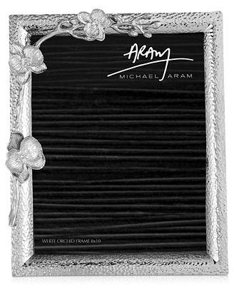 Michael Aram White Orchid 8 X 10 Frame Picture Frames Macys