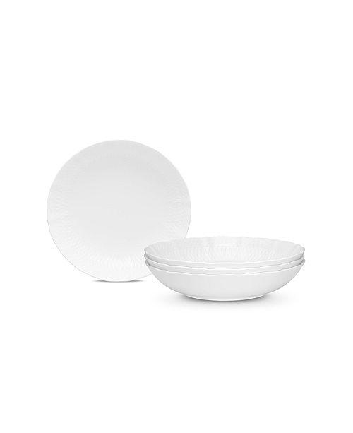 Noritake Cher Blanc  Pasta/Soup Bowl   Set/4
