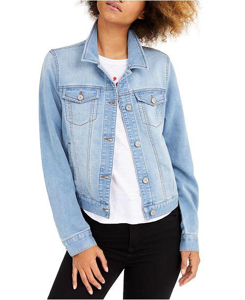 Rewash Juniors' Denim Jacket