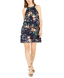 Floral-Print Shift Dress