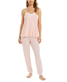 Printed Tank Top Pajama Set, Created for Macy's