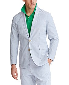 Men's Seersucker Suit Jacket