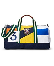 Men's Rugby Color-Blocked Duffel