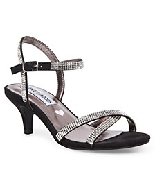 Little & Big Girls Rhinestone Dress Sandals