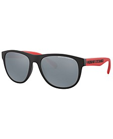 Armani Exchange Men's Polarized Sunglasses, AX4096S