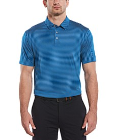 Men's Big & Tall Feeder-Stripe Polo