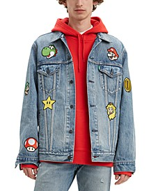Men's Nintendo Super Mario Trucker Jacket