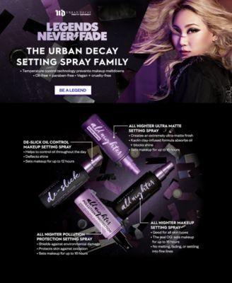 De-Slick Oil Control Mattifying Makeup Setting Spray, 4-oz.
