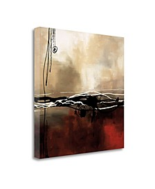 Symphony In Red and Khaki I by Laurie Maitland gale on Gallery Wrap Canvas