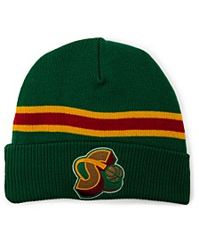 Seattle SuperSonics HWC Retro Stripe Knit Hat