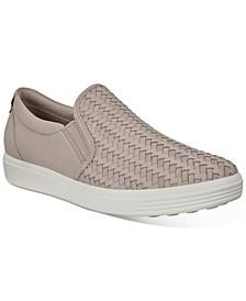 Women's Soft 7 Woven Slip-On Sneakers