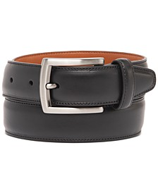 Men's Feather-Edge Dress Belt, Created for Macy's