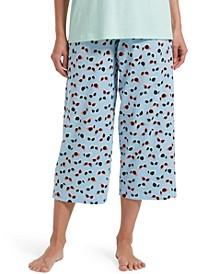 Blinglasses Women's Capri Pajama Pant
