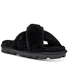 Women's Fuzzette Sandal Slippers
