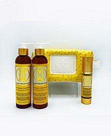 4-Piece Natural Hair Thickening Rejuvenating Set