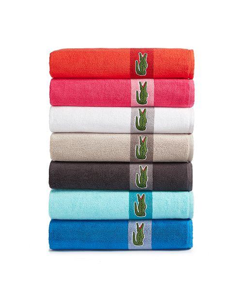 Lacoste CLOSEOUT! Logo 30X54 Bath Towel