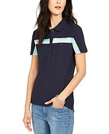 Tommy Hilfiger Multi-Stripe Polo Shirt