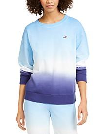 Ombré Cotton Sweatshirt