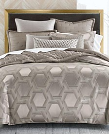 Honeycomb Trellis Bedding Collection, Created for Macy's