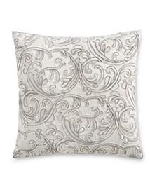 "Classic Embossed Jacquard 16"" x 16"" Decorative Pillow"