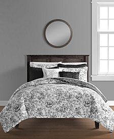 June 8-Pc. California King Comforter and Quilt Set