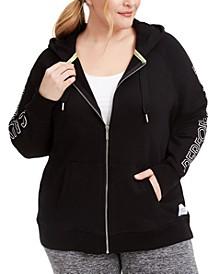 Plus Size Logo-Print Hoodie