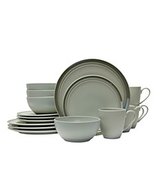 Elura Gray 4 Piece Place Setting