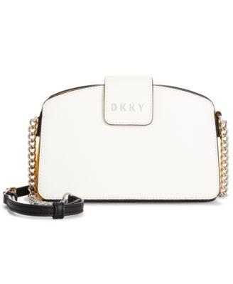 Clara Leather Chain Crossbody Bag