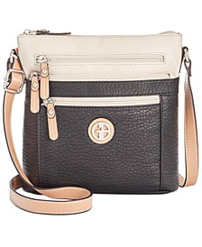Colorblock Pebble Crossbody, Created for Macy's