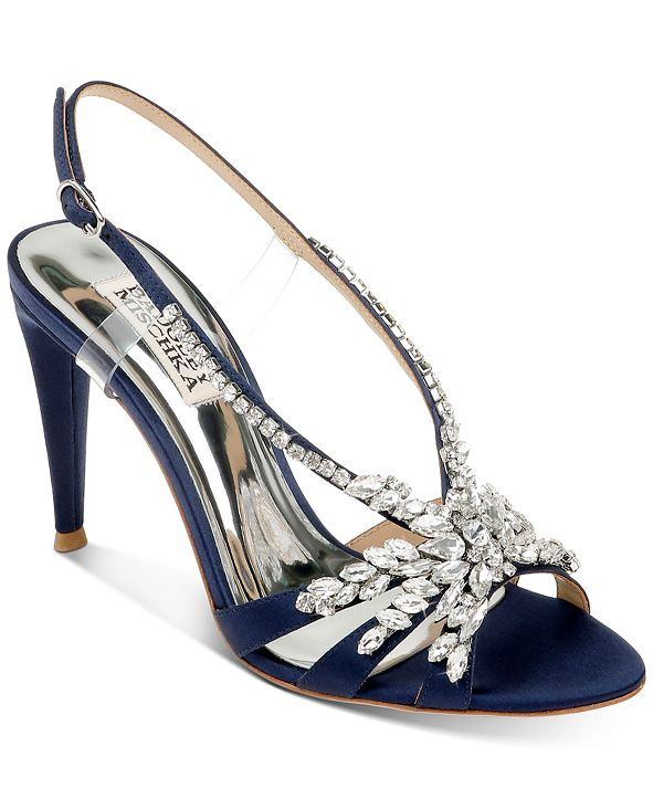 Badgley Mischka Jacqueline Evening Shoes