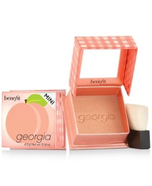 Benefit Cosmetics Box O' Powder Georgia Blush Mini