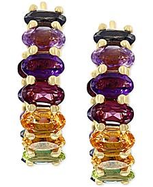 EFFY® Multi-Gemstone (4-5/8 ct. t.w.) Drop Earrings in 14k Gold