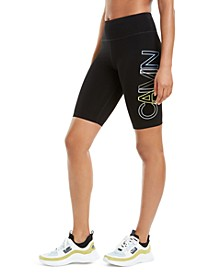 Outline-Logo Bike Shorts
