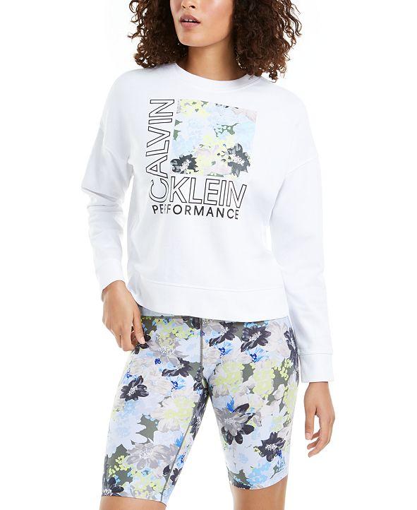 Calvin Klein Logo-Graphic Sweatshirt