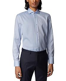 BOSS Men's Jason Medium Blue Shirt