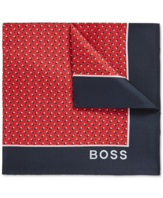 hugo boss pocket square