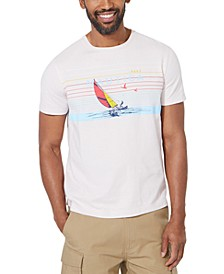 Men's Stripe Graphic T-Shirt