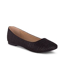 GWEN Women's Perforated Detail Knit Oxford