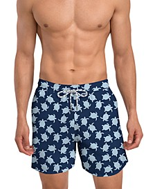 Men's Modern Fit Quick Dry 6'' Swim Trunks