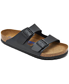 Birkenstock Men's Arizona Birko-Flor Soft Footbed Casual Sandals from Finish Line