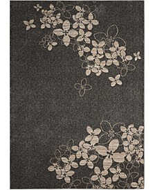 "Samuel SAM02 Charcoal 9'3"" x 12'9"" Area Rug"