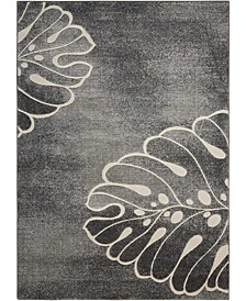 "Samuel SAM04 Gray 9'3"" x 12'9"" Area Rug"