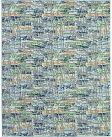 "City Cool CIT01 Gray 7'10"" x 9'10"" Area Rug"