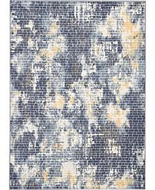 City Style CIS05 Ivory, Mist 4' x 6' Area Rug