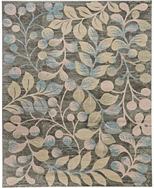 "Peace PEA03 Gray 8'10"" x 11'10"" Area Rug"