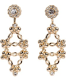 18k Gold Plated Fall Pierced Earring