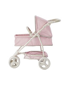 Polka Dots Princess 2-in-1 Baby Doll Stroller