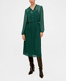 Flowy Midi Dress
