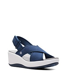 Cloudsteppers Women's Step Cali Cove Wedge Sandals